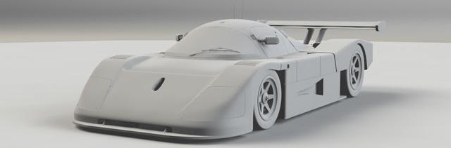MODO501 チュートリアルカーモデリング完成 勉強なりました!