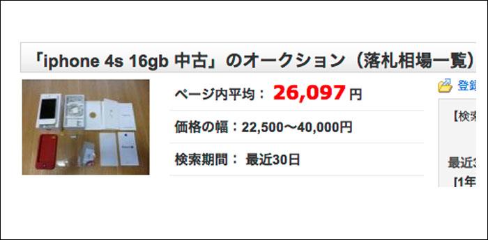 下取りプログラムでiphone5買う前にちょっと見て!オークションやGEOでの買取がお得か検証!