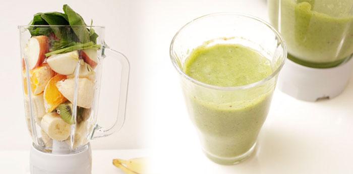 朝から健康に!ジュースミキサーTM836-Wを購入してグリーンスムージを作ってみました!