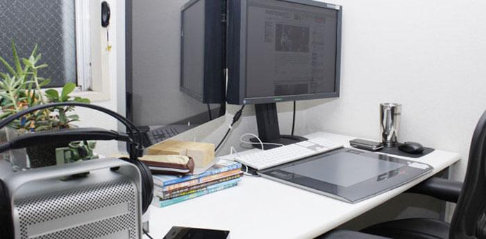 6畳のお部屋だってオシャレにしたい。無垢のパソコンデスクが欲しくて。下調べ編