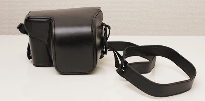 NEX-6買ったらまず欲しいもの。カメラケース「 PU Leather Camera Case」レビュー
