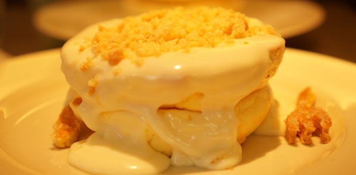 「ふわとろ」とはまさにこの事!なパンケーキ「rainbowpancake」食べてきました!