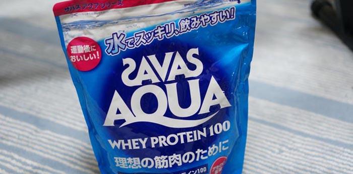 さっぱり!SAVASプロティンのアセロラ味は飲みやすくて美味しい!