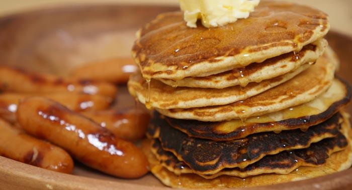 アマゾンで買ったパンケーキの粉「福島商事 whole wheat pancake mix」レビュー