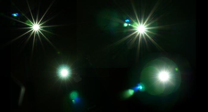 光素材を使いたいなら、iphoneの「懐中電灯」を撮影すれば簡単ですよ!