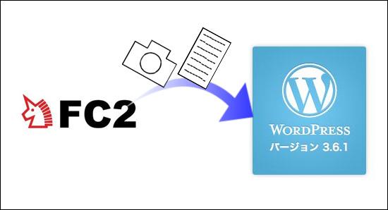 FC2ブログからwordpressへ記事内容と画像データを移行する方法。詳しく書いてみました。