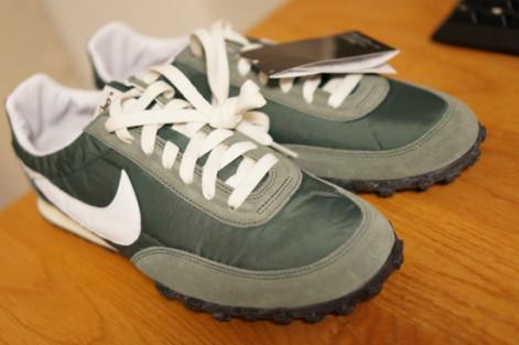MODOでNIKEワッフル靴のモデリング開始します。01アタリ撮影
