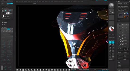 Zbrushユーザー必見!!とっても丁寧にハードサーフェスキャラを12時間掛けて作るチュートリアル動画!