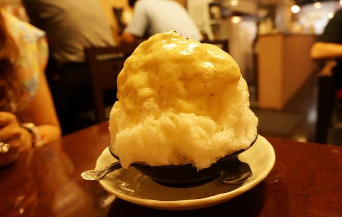わたあめ食感のかき氷!笹塚にある「みなと屋」へ行って来ました。