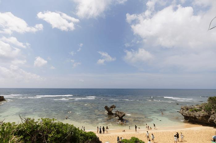 2回目の沖縄旅行 僕も嵐になれた!?古宇利島でハートロックを見て来たよ!