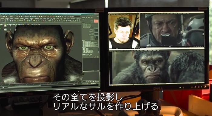 楽しかった!猿の惑星 新世紀(ライジング)のメイキング映像!