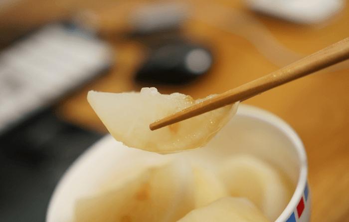 ニート飯。寒い冬を越す為の激ウマ大根1本茹でるだけの激安レシピ