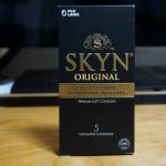 うすさから素肌のような滑らかさ「SKYN コンドーム」を使いました。