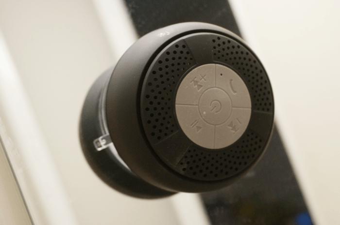 シャワーをしながら音楽が聴ける防水スピーカー4つめ購入。