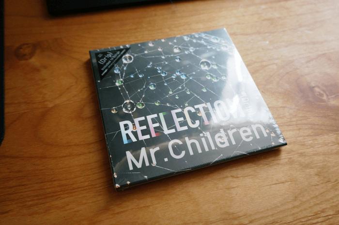 """mr.childre """"新作REFLECTION""""未収録曲も通常版を買えば別途¥250でダウンロード可能だった。"""