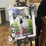 結婚式のウェルカムボード作ってあげました。02