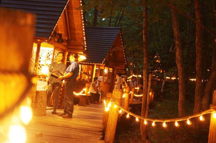 2015年7月富良野で北海道らしいお土産買うなら、ニングルテラスのロウソクが可愛い!