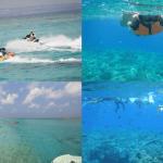2度めの上陸!美ら海水族館へ行くなら綺麗な海!水納島へ行くべきですよ!
