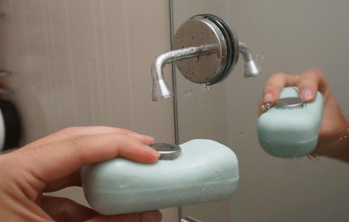 空中浮遊!お風呂場の石鹸を溶かさないで使う商品を買ってみた。