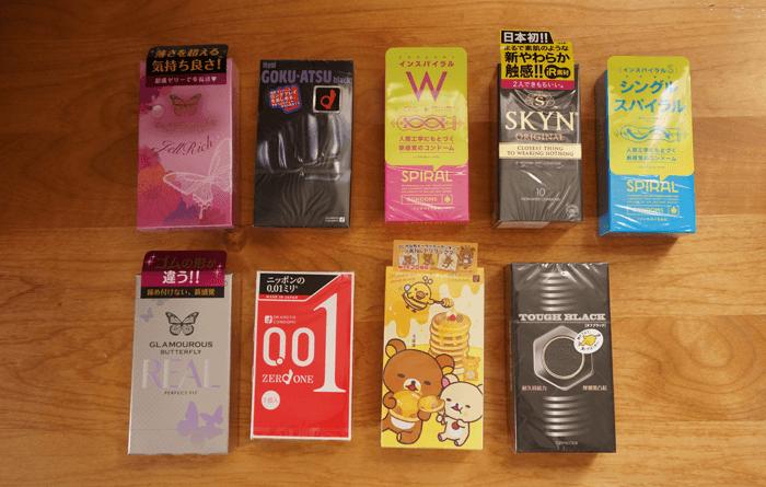 買うならこれ!人気コンドーム9種類を使ってみました!