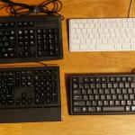 仕事に早さを求めるならキーボードにもこだわらないと。キーボード4つを比較してみました。