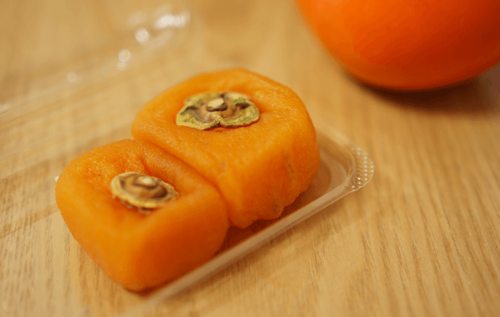 じじばばの好物。あんぽ柿がトロトロで美味い。