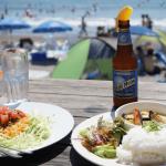 ご飯がオシャレな一色海岸行ってきました。
