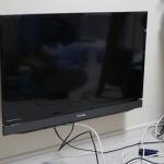ホッチキスで壁掛けテレビを設置する時に注意したい事。