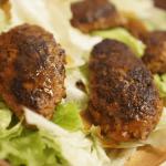 ふるさと納税で食べたハンバーグがホクホクで美味しかった。