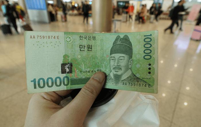 初めての韓国旅行1日目 お金を換金するならミョンドンが良い。