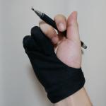 ipadproなんて買わなくて良い。ipadminiでお絵描きするなら手袋買えば捗りますよ。
