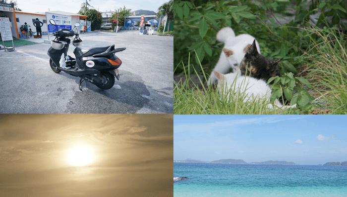 2017年8月  沖縄 渡嘉敷島に行ってきた。なにここ天国なの?