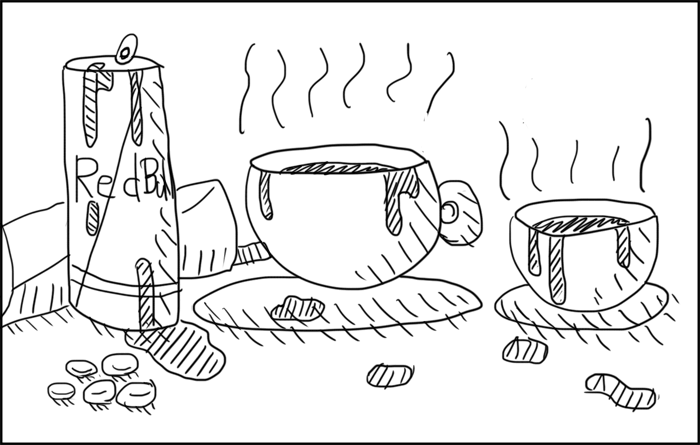 毎日コーヒー何缶飲んでるの?カフェイン取って仕事をするのって異常ですからね..。