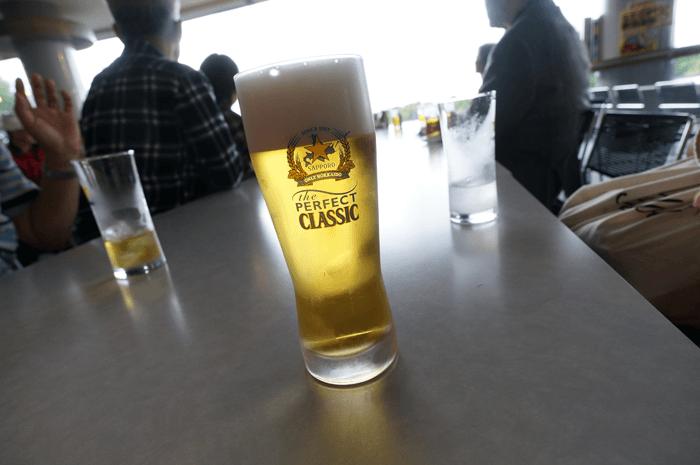 北海道旅行。帰る日はサッポロビール工場で無料ビールを2杯飲んできました!