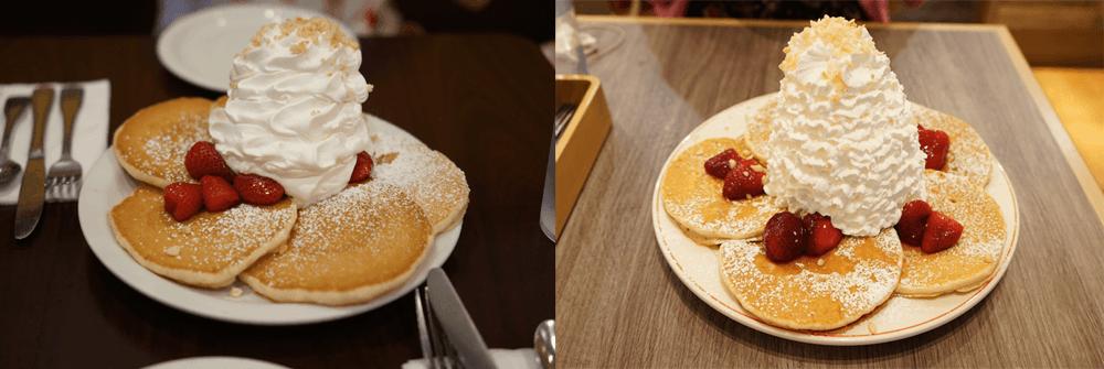 ハワイと日本のエッグスシングスパンケーキの違い。食べるなら日本がオススメ!