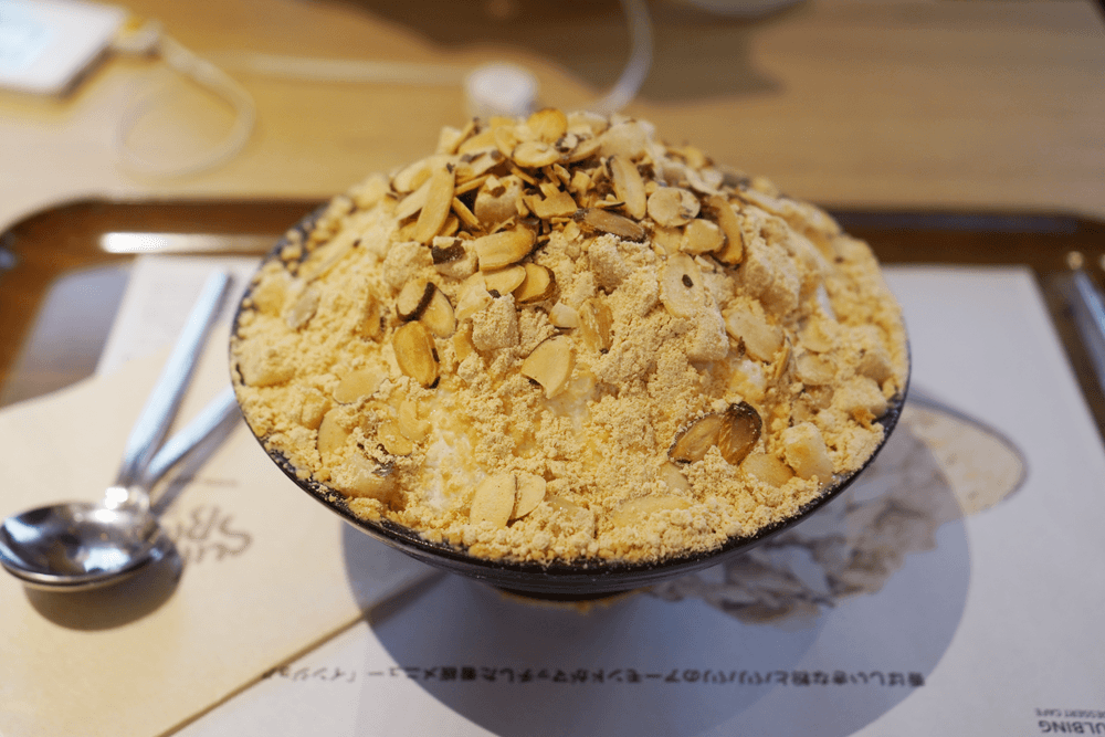韓国の人気かき氷「ソルビン」を食べてきたよ。