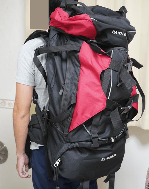 【防災グッズ】80Lの大容量でしっかり作られている防災バッグを買いました。レビュー